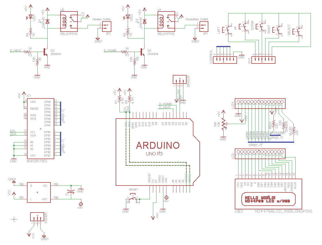 first draft of full schematic