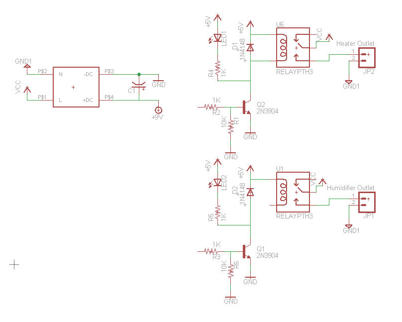 the start of the schematic