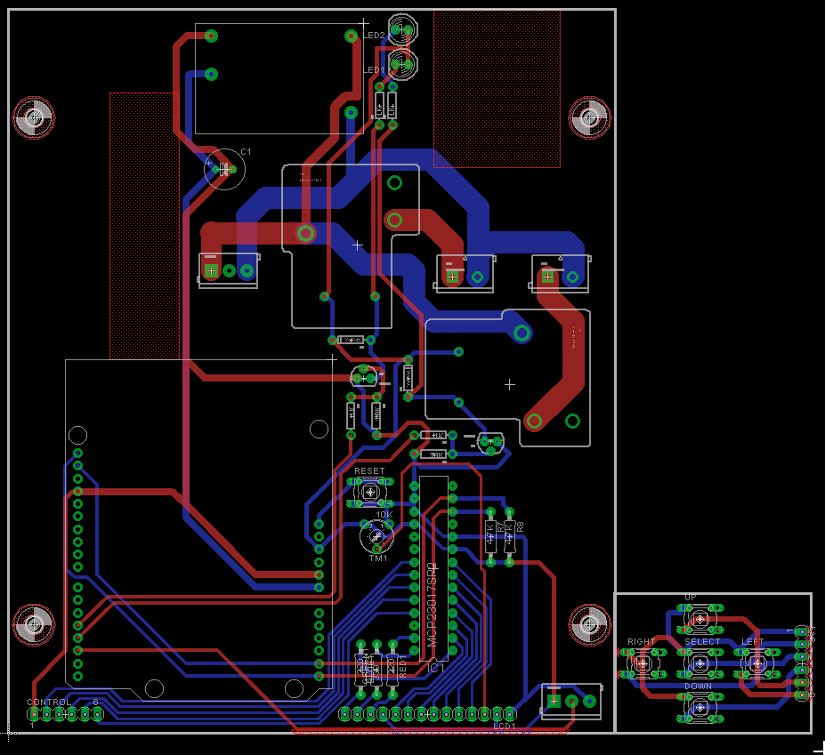 board ready for printing and etching
