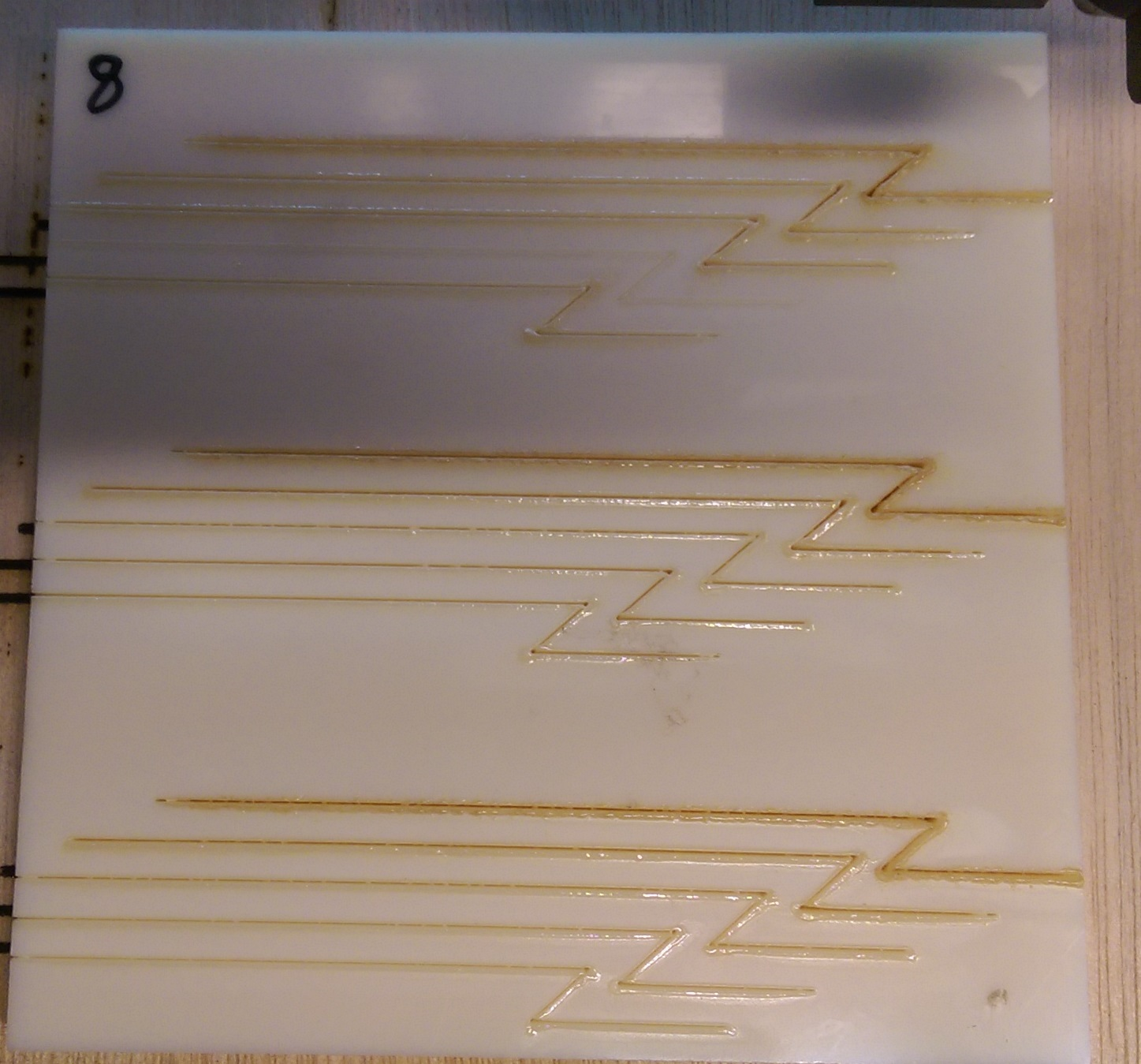 laser cutting of Natural ABS