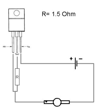 Simple regulator schematic