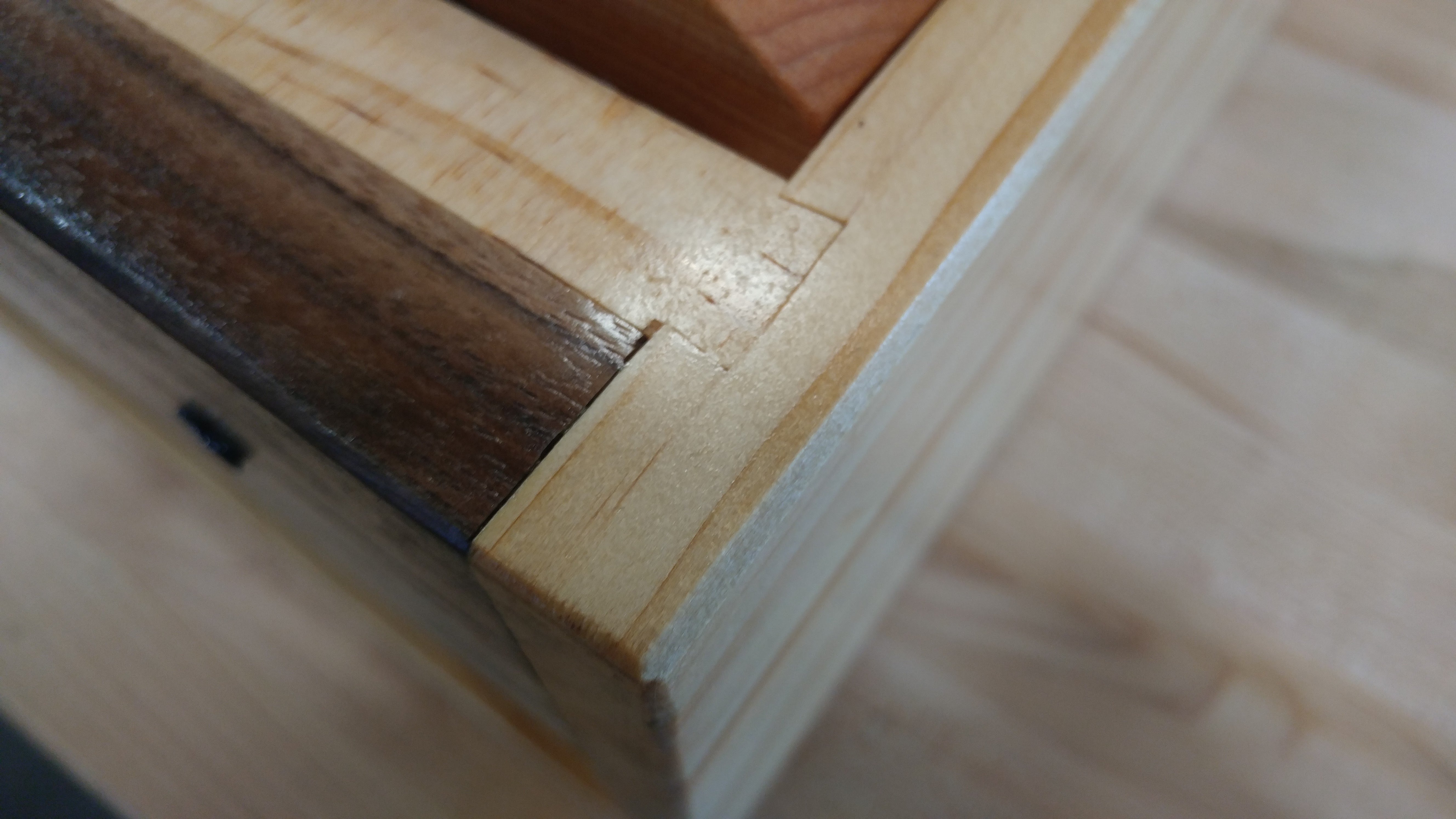 end sliding dovetail