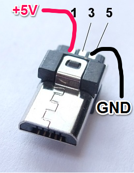 micro usb power connector wiring micro usb pinout, because everything is terrible never stop building