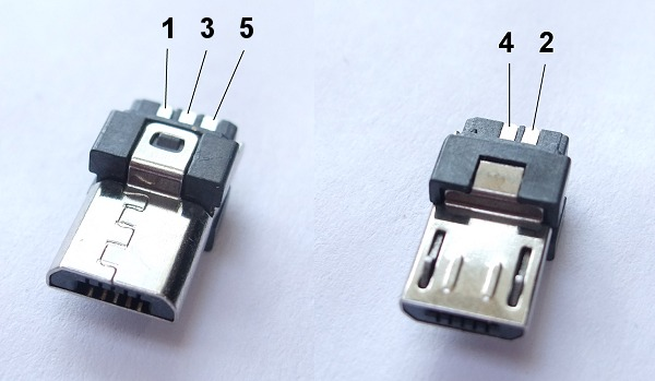usb microb plug connector 4 micro usb pinout, because everything is terrible never stop building